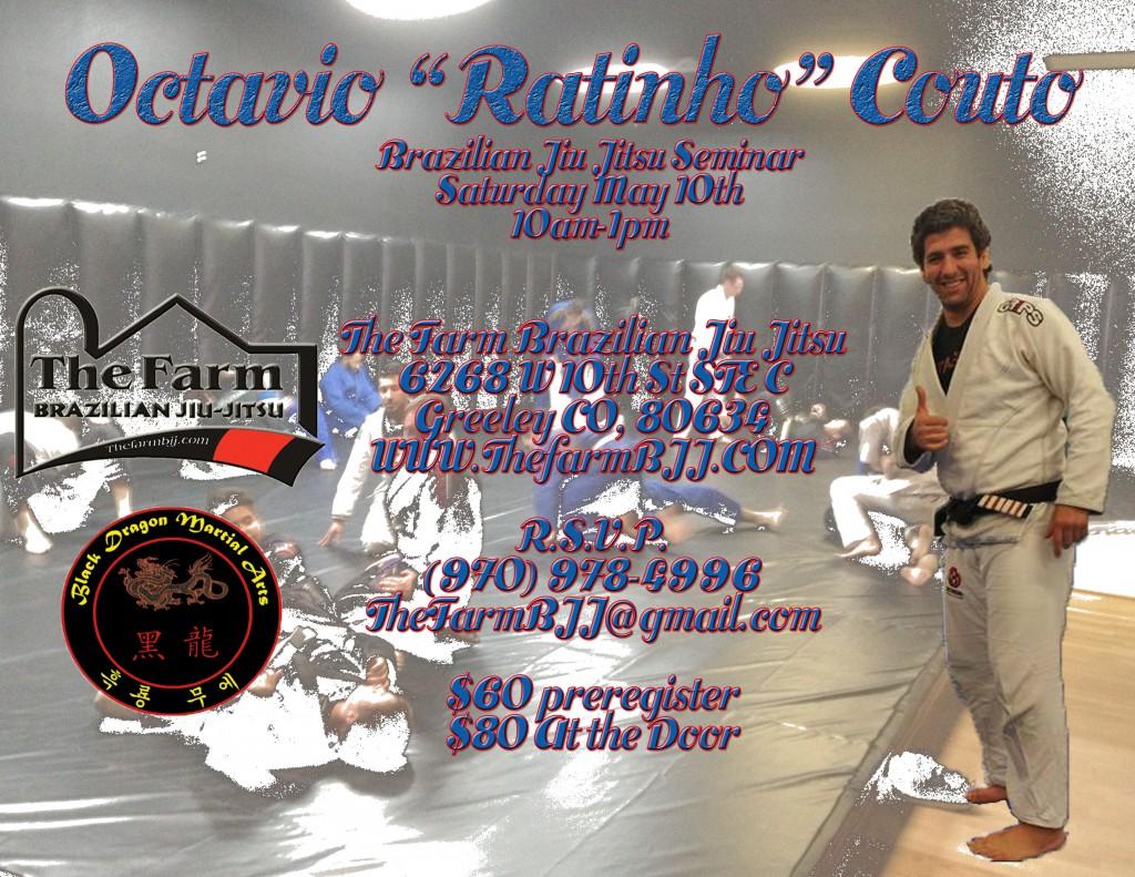 """Octavio """"Ratinho"""" Couto comes to The Farm Brazilian Jiu Jitsu to share his art!"""