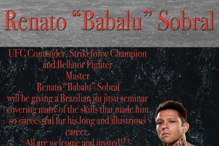 "Renato ""Babalu"" Sobral Teaching..."