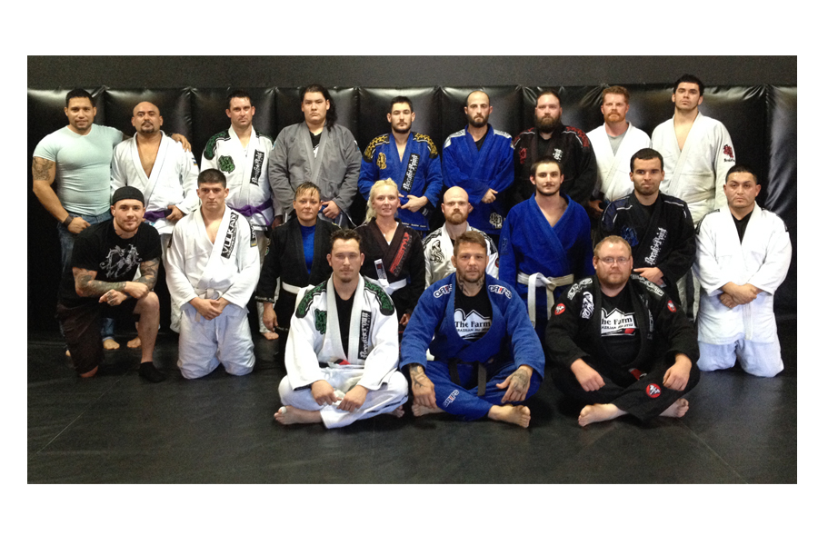 The Farm BJJ Renato Babalu Sobral Brazilian jiu jitsu team