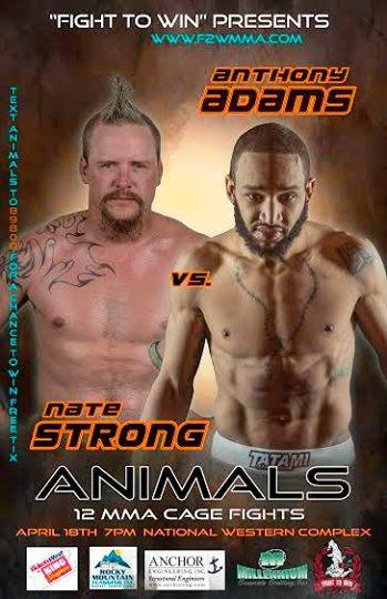 Anthony Adams Steps in to Fight to win Animals Card on 4 days notice!