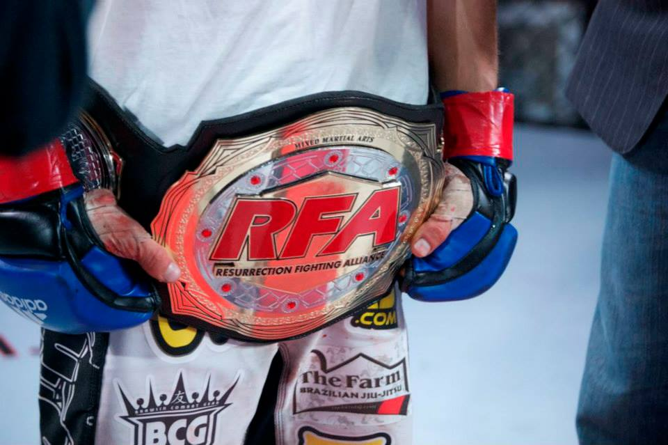 Matt Manzanares Wins the RFA Fly weight Title!!!